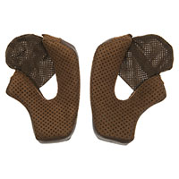 Bell Bullit Helmet Cheek Pads Brown