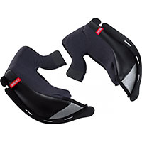 Hjc Rpha 70 Cheek Pads Black