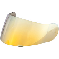 Hjc Visor Hj-09 For Tr-1/cl-sp/cs-15 Gold