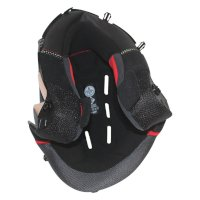 Nolan Clima Comfort N40-5 Interior Black Red