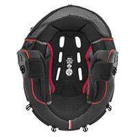 Interno Completo Nolan Clima Comfort N91 Evo Rosso