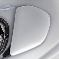 Arai Side Pods - J Type - Frost White