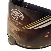 Premier Hyper A Pin Visor Dark Smoke