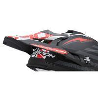 Scorpion Replacement Peak Vx-15 Evo Air Gamma Black White Red Matt