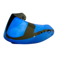 Scorpion Blue Mirror Visor - Exo-510-710-1200-2000