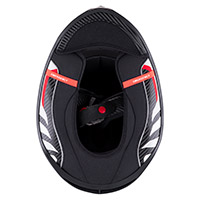 Interno completo Scorpion Exo R1 Carbon Air blanco