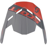 Scott 350 Evo Kid Plus Dash Visor Black Red Kid