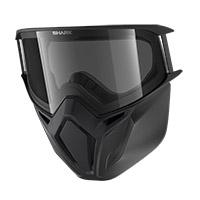 Kit de máscara Shark AC33051 Street Drak negro