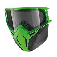 Kit de máscara Shark AC33051 Street Drak verde