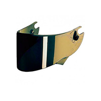 Shark Iriudium Gold Visor For Race-r Pro/ Speed-r