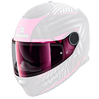 Shark Vz160 Night Day Visor Light Iridium Pink
