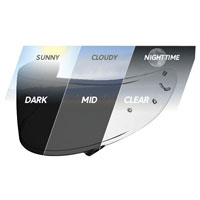 Shoei Photochromic Visor