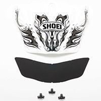 Shoei Vfx-w Scimitar Tc-6 Peak White Black
