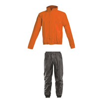 Acerbis Rain Suit Logo Orange
