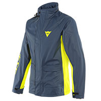Dainese Storm 2 Rain Jacket Black Yellow
