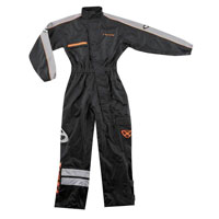 Ixon Rain Suit R 8.8 Black Grey Orange