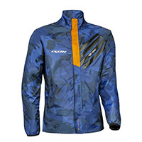 Ixon Stripe Jacket Camo Navy Orange
