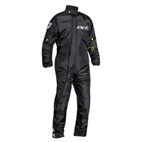 Ixon Yosemite Rain Suit Black Yellow Fluo