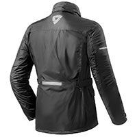 Rev'it Rain Jacket Quartz H2o Nero