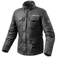 Rev'it Rain Jacket Quartz H2o Black