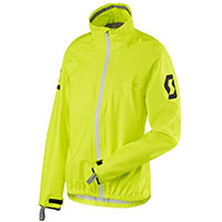 Chaqueta Impermeable Dama Scott Ergonomic Pro DP amarillo