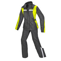 Spidi Touring Rain Kit Lady Nero Giallo Donna
