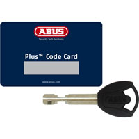 Catena Abus Steel O Chain 9808/110 Nero
