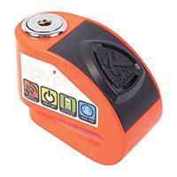 Kovix Kd6 Alarm Disc Lock Orange Fluo