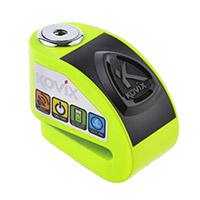 Kovix Kd6 Alarm Disc Lock Green Fluo