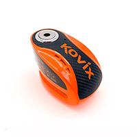 Kovix Knx10 Alarm Disc Lock Orange Fluo