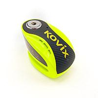 Kovix Knx6 Alarm Disc Lock Green Fluo