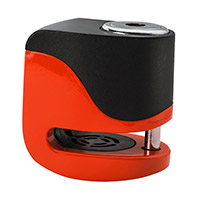 Kovix Ks6 Alarm Disc Lock Orange Fluo