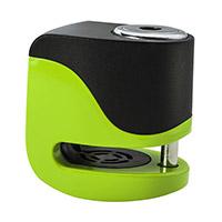 Kovix Ks6 Alarm Disc Lock Green Fluo