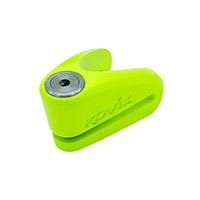 Kovix Kv10 Disc Lock Green Fluo