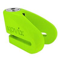 Kovix Kvz1 Disc Lock Green Fluo