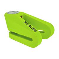 Kovix Kvz2 Disc Lock Green Fluo