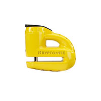 Kryptonite Lucchetto Krypto Disco Scooter Giallo Perno 5mm