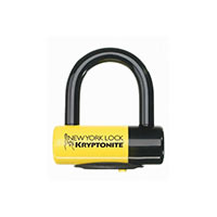 Kryptonite Lucchetto New York Disc Lock Giallo