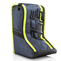 Acerbis Boots Bag Grey Yellow