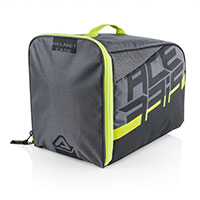 Acerbis Helmet Bag Grey Yellow