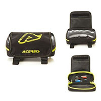 Acerbis Tools Bag Rear Fender Black/fluo Yellow
