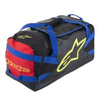 Alpinestars Goanna Duffle Bag Black Blue Red Yellow Fluo