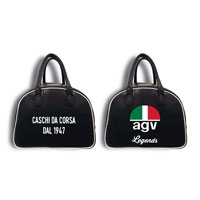 Borsa Portacasco Agv Legends Nero