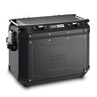 Givi Trekker Outback 48lt Right Aluminium Black