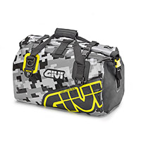 Givi Ea115cm Saddle Bag Camo Yellow Grey