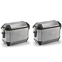 Givi Trekker Alaska 36lt Side Cases Grey