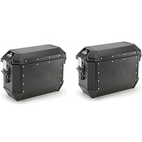 Givi Trekker Alaska 36lt Side Cases Black