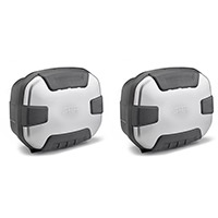 Givi Trekker 2 Trk35pack2 Cases Pair Aluminium