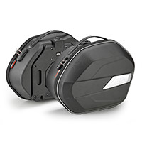 Paire Sacoches Latérales Givi Wl900 Weightless Noir