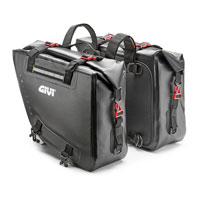 Givi Waterproof Black Side Bags 15 + 15 Lt